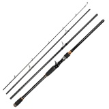 Best Offer Ustore Portable Super Hard Tune High Carbon Long Shot Lure Rod Sea Rod Fish Pole Black 2 7M Intl