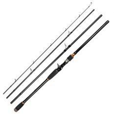 Price Ustore Portable Super Hard Tune High Carbon Long Shot Lure Rod Sea Rod Fish Pole Black 2 7M Intl Oem