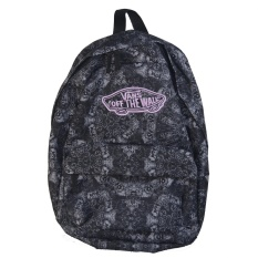 Vans Off The Wall Realm Backpack (Black Light purple) - intl 7a789a56947f9