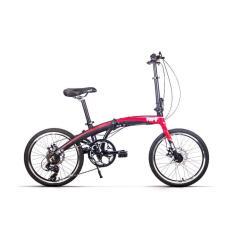 Price Vert V8 S2 Aluminium Light Weight Foldable Folding Bicycle Matt Fury Red Vert Original