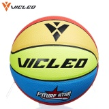 Vicleo Cute Children S Basketball Ball Size 4 Indoor Outdoor Kids Colorful Basketball For Entertainment Intl For Sale