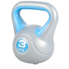 Vinyl Kettlebell 3Kg On Singapore