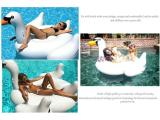 Buy Voogol Lovely White Swan Design Inflatable Pool Floats Swim Ring For Kids And Adults White S China