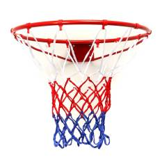 Best Rated Wall Mounted Hanging Basketball Goal Hoop Rim Net Metal Sporting Goods Netting 45Cm