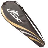 Promo Badminton Racquets Bag For 2Pcs Racket Black Color Pu Material