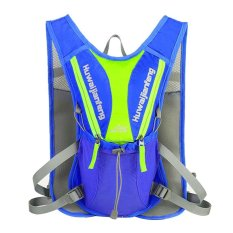 Waterproof Mtb Cycling Climbing Backpack(blue) - Intl By Crystalawaking