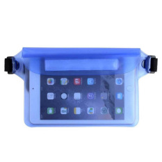 Waterproof Pouch Bag Case With Waist Strap For Beach, Swimming, Boating, By Sportschannel.
