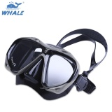 Best Whale Professional Scuba Myopia Hyperopia Swimming Diving Mask Goggle Grey Intl