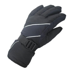 Winter Coldproof Warm Space Cotton Gloves Waterproof Windproof Skiing Gloves Men Sport Gloves(black) - Intl By Yunhaitech.