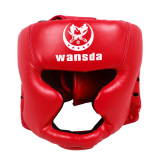 Buy Cheap Ybc Headgear Head Guard Kick Boxing Protector Sparring Gear Face Helmet Red