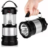 Yocho Portable Outdoor Led Camping Lantern Solar Lamp Lights Black Intl Sale