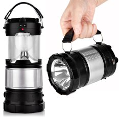 Compare Price Yocho Portable Outdoor Led Camping Lantern Solar Lamp Lights Black Intl Oem On China