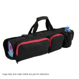 Yoga Mat Bag With Open Ends Mobile Pocket And Water Bottle Holder Intl China