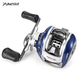 Best Rated Yumoshi 6 3 1 12 1 Ball Bearing High Speed Left Right Hand Bait Fishing Baitcasting Reel Left Intl