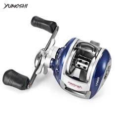 Promo Yumoshi 6 3 1 12 1 Ball Bearing High Speed Left Right Hand Bait Fishing Baitcasting Reel Left Intl