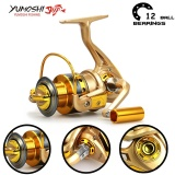 Price Compare Yumoshi Carp 12Bb Feeder Metal Body Big Spinning Fishing Reels Shimano Hf4000 Intl