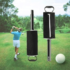 Zipper Golf Shag Bag Pick Up Golf Ball Storage Retriever Collector Holder Pouch - Intl By Freebang.