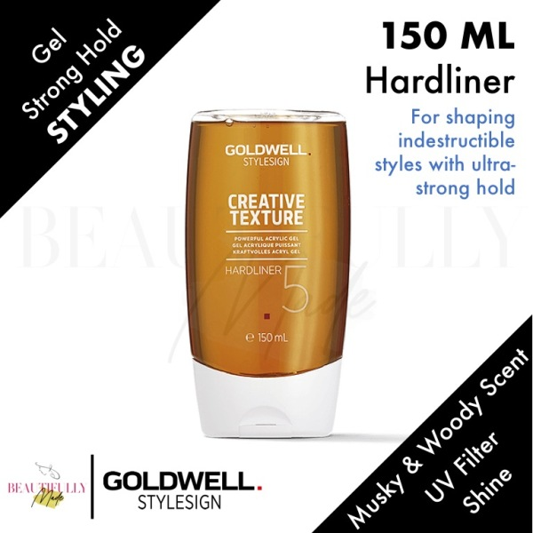 Buy Goldwell StyleSign Hardliner 150ml Acrylic Gel - For shaping indestructible styles with ultra-strong hold Singapore