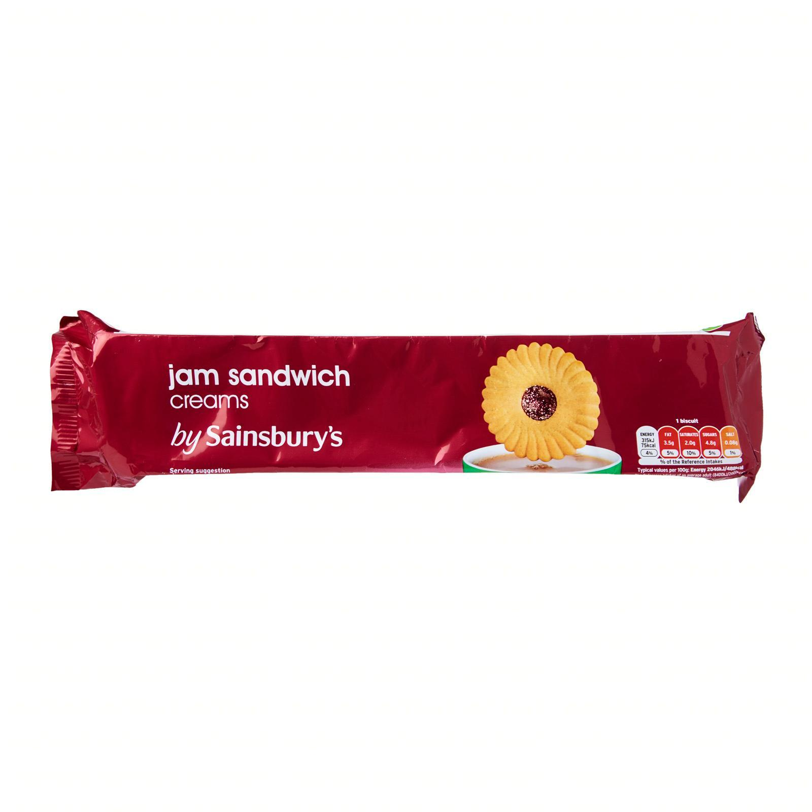 Sainsbury's Jam Sandwich Cream Biscuits