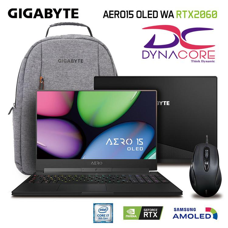 GIGABYTE AERO15 OLED WA RTX2060 i7-9750H 15.6 In UHD AMOLED display Laptop