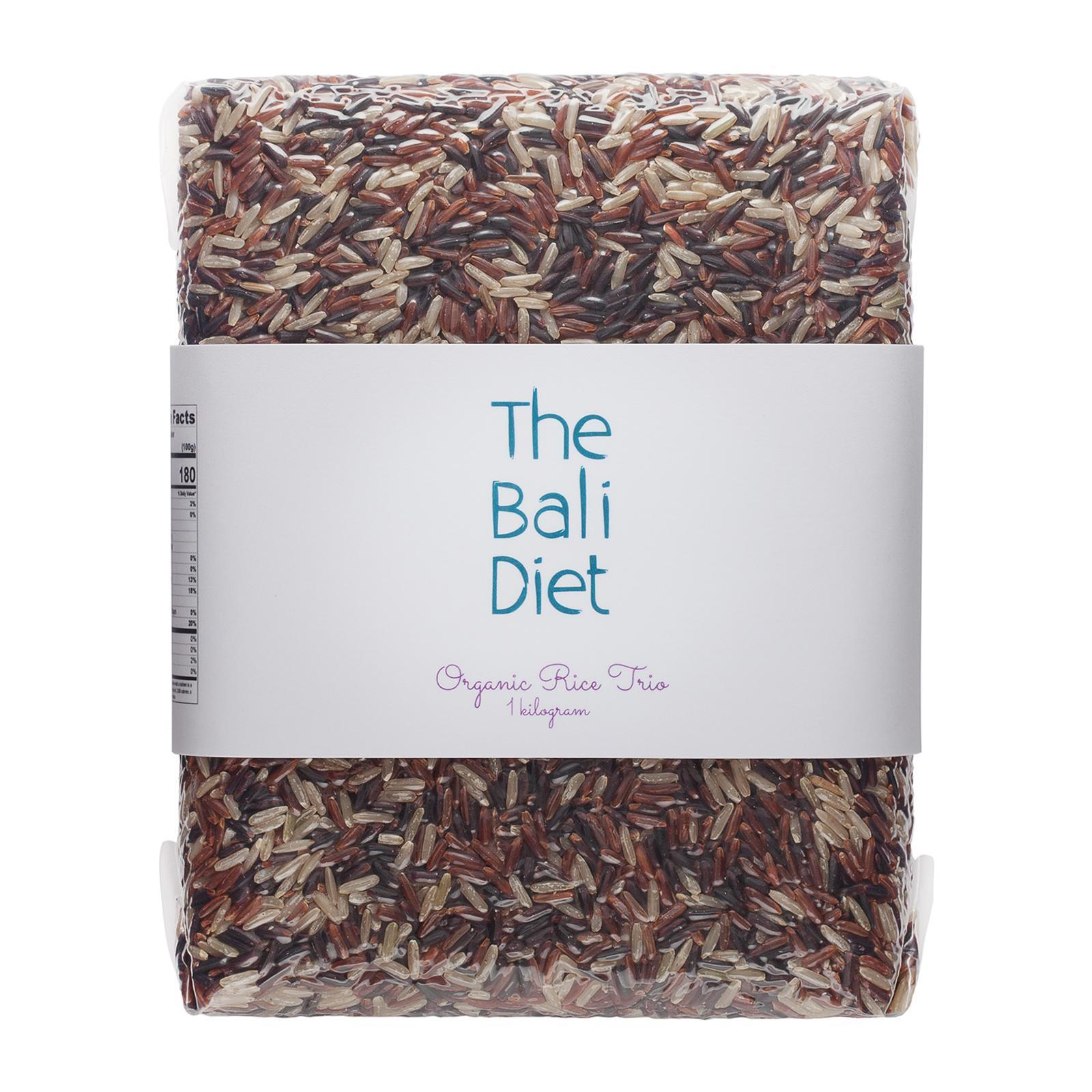 The Bali Diet Organic Rice Trio By Redmart.
