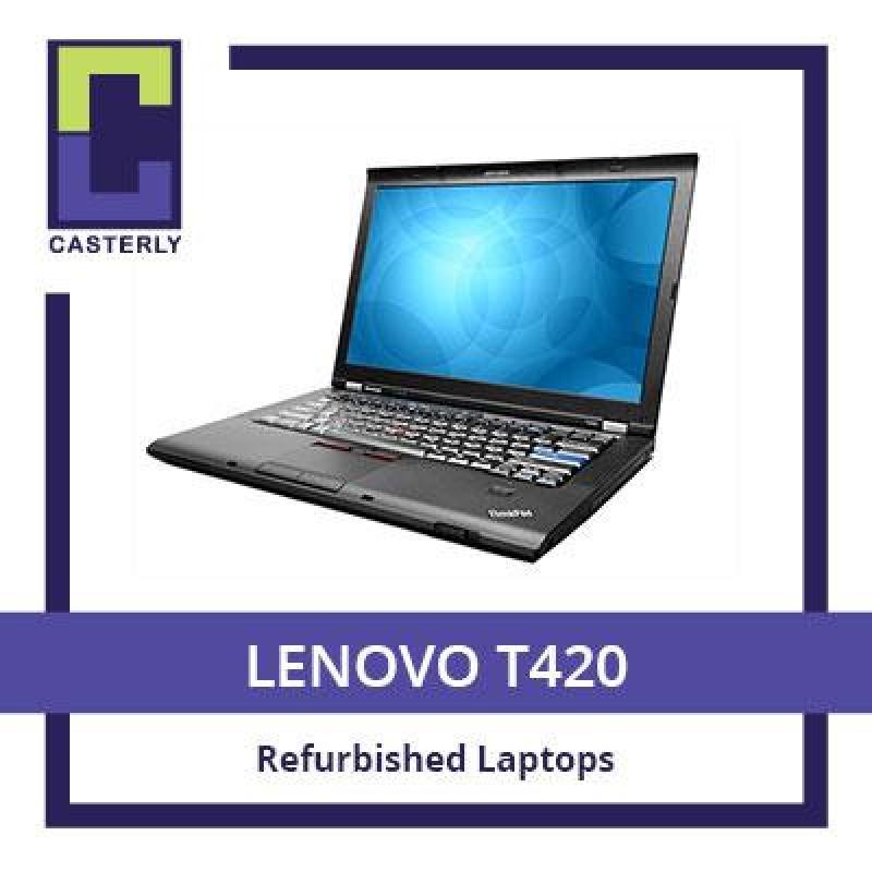 [Refurbished] LENOVO Thinkpad T420 / Intel Core i5 / 4GB RAM / 256GB SSD / Windows 7 / 3 Months Warranty