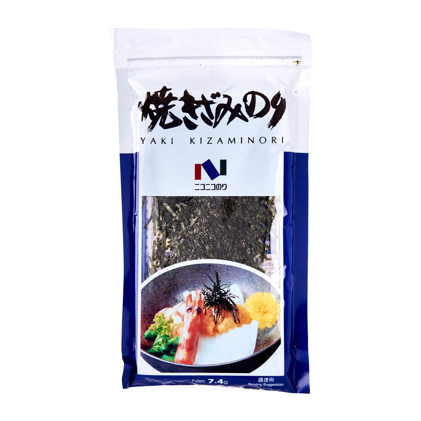 Kirei Yaki Kizami Nori Roasted Seaweed strips 7.4 G