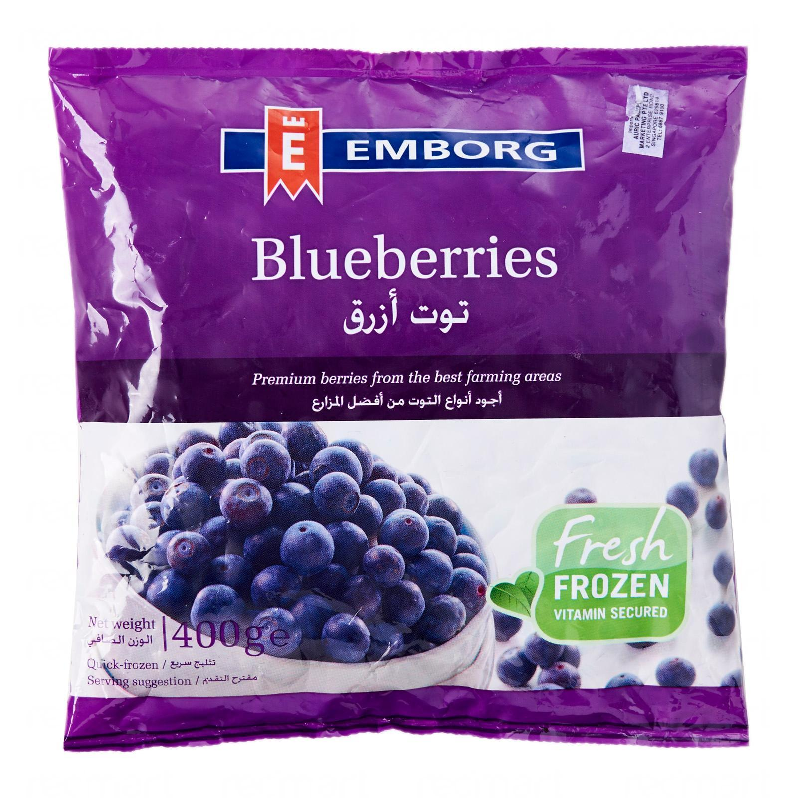 Emborg Blueberries - Frozen
