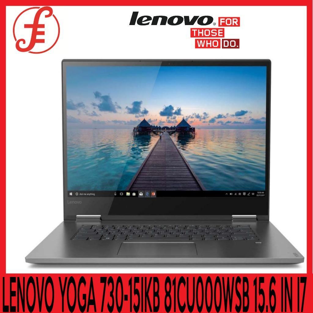 LENOVO YOGA 730-15IKB 81CU000WSB 15.6 IN INTEL CORE I7-8550U 16GB 512GB SSD WIN 10 (YOGA 730-15IKB 81CU000WSB )