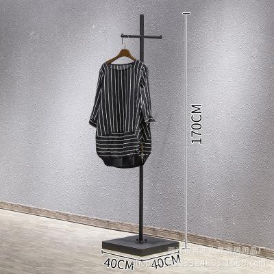 Simple Clothing Rack Clothing Store Sedurre Attrarre Showing Stand on the Wall nan nv zhuang Display Rack Floor-type Iron Art Clothing Rack