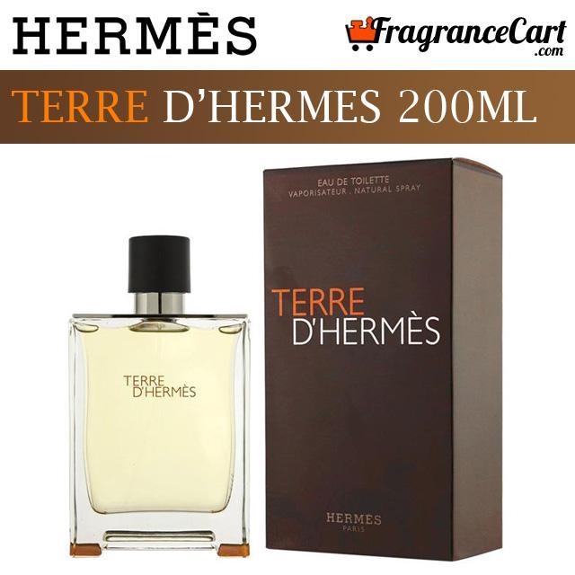 fe83fb4da47 Hermes Terre D Hermes EDT for Men (200ml) Eau de Toilette Hermès Paris