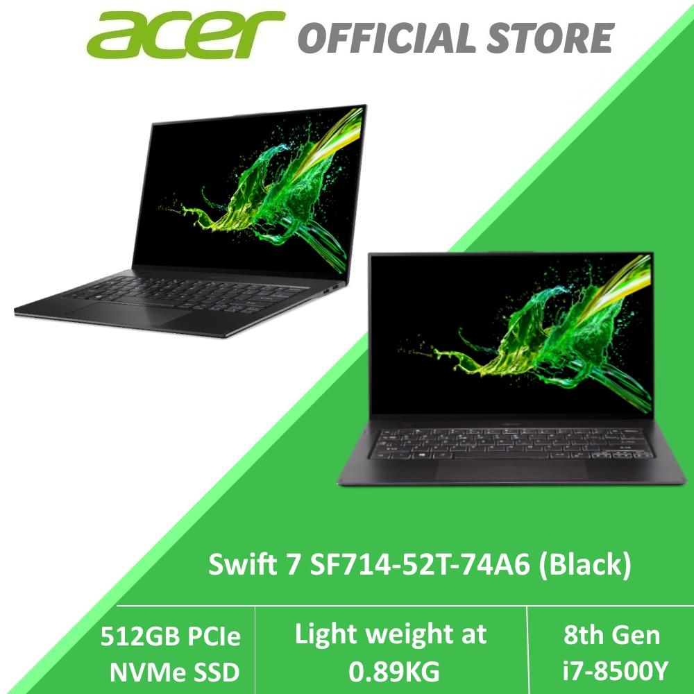 Acer Swift 7 SF714-52T-74A6 Light Weight Laptop at 0.89 KG with 8th Gen Intel Core i7-8500Y processor