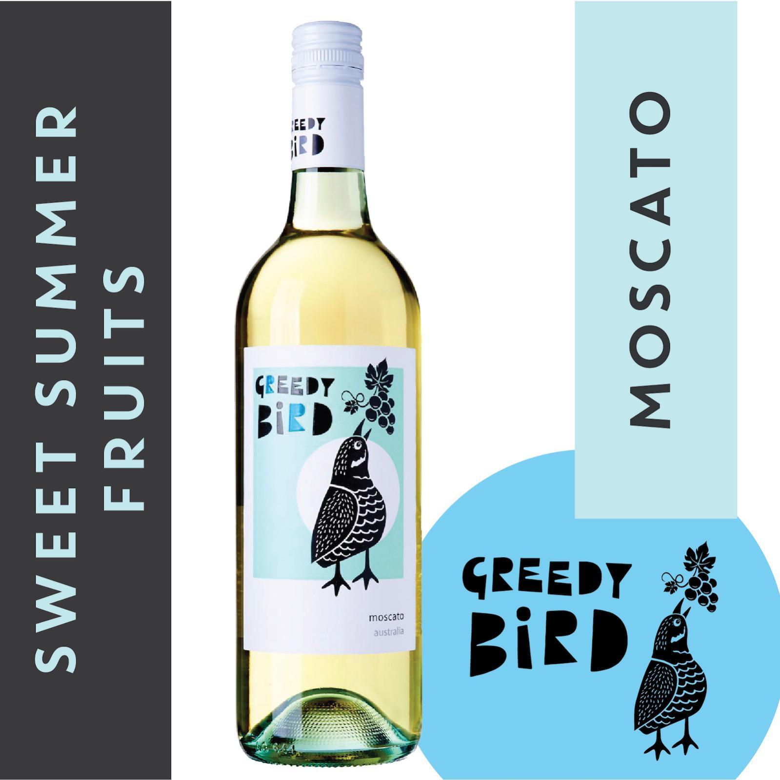 Greedy Bird South Australia Moscato - Low Alcohol