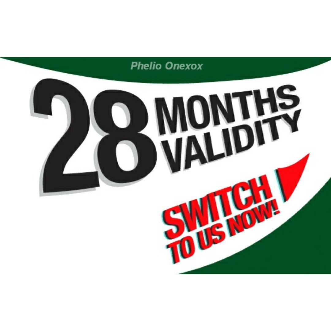 28 Months Validity Malaysia Prepaid Simcard By Jastores.
