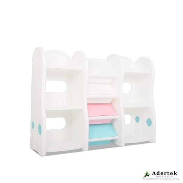 Pastel Compact Storage Organizer + Bookshelves (Premium)