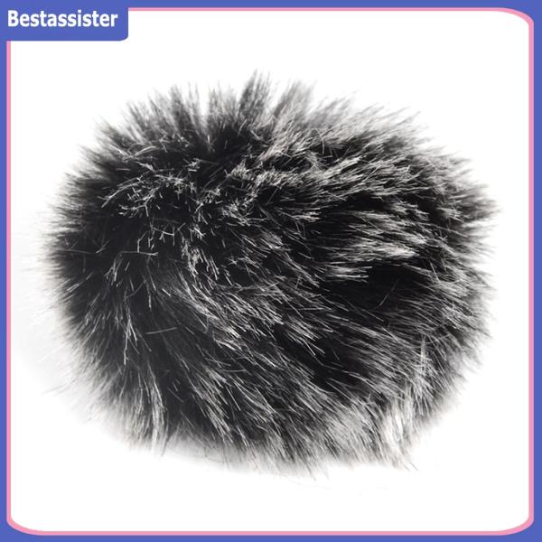Lapel Mic Fur Muff Windshield Lavalier Microphone Cover Outdoor Furry Microphone Lightweight Element Singapore