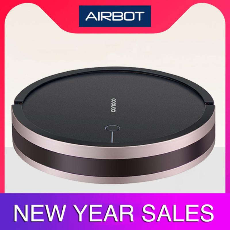 Airbot Conoco Robotic Vacuum Cleaner 2000Pa with 750mL Dust Box for 150m2 Home ( Walnut / Champagne Gold / Rose Gold ) Singapore