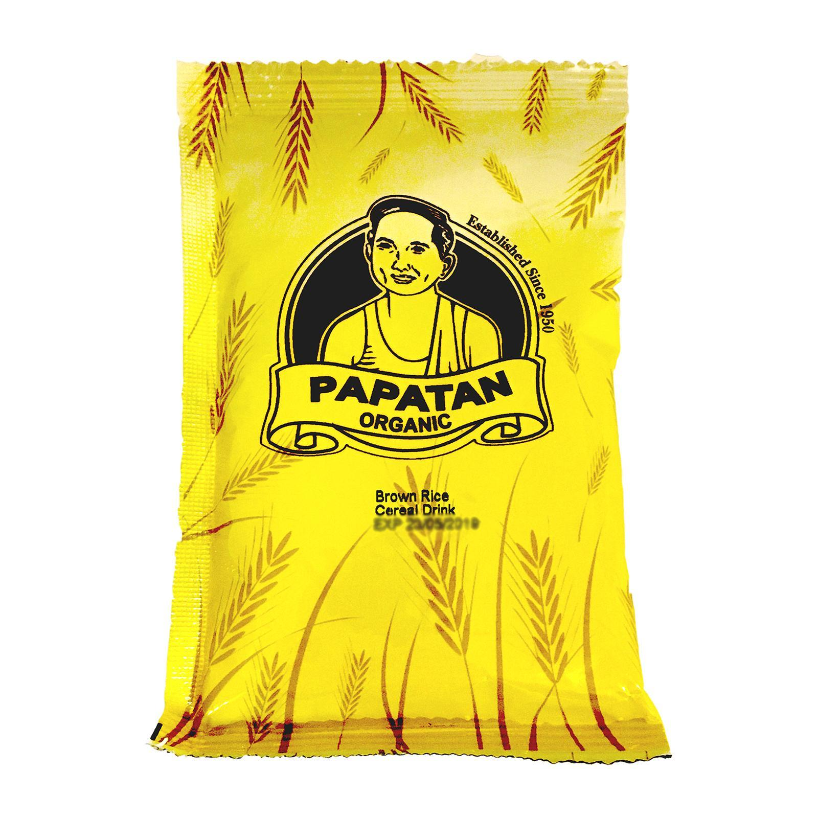 Pa Pa Tan Natural Brown Rice Cereal Drink - Sachet [sample] By Redmart.