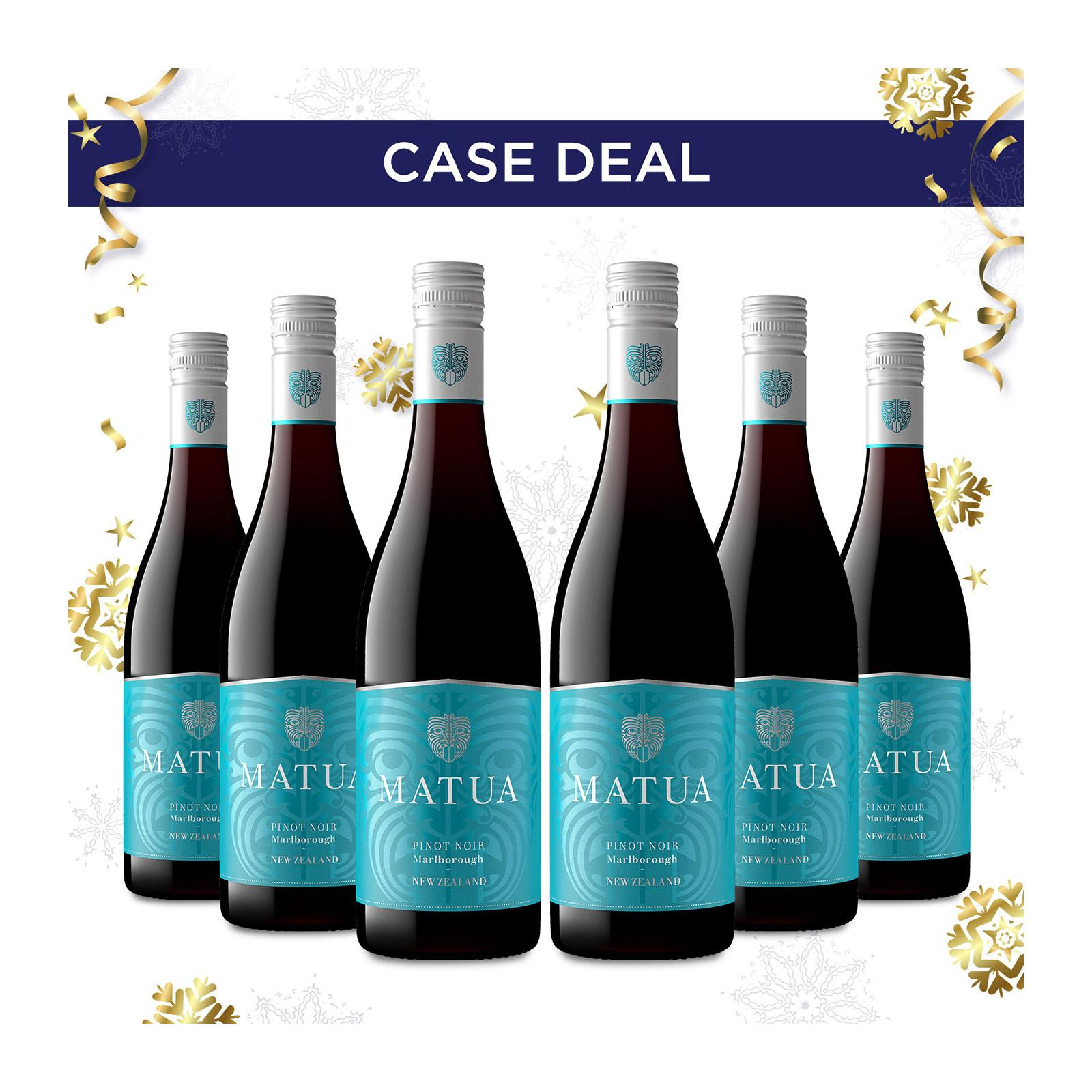 Matua Valley Marlborough Pinot Noir Red Wine - Case