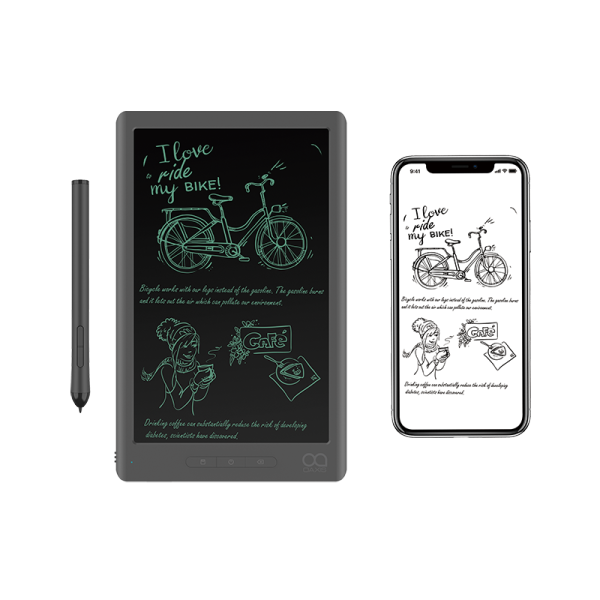myFirst Sketch Book - Instant Digitisation Portable Drawing Pad with Free Leather Case and Built-in Memory with Portable Drawing Pad