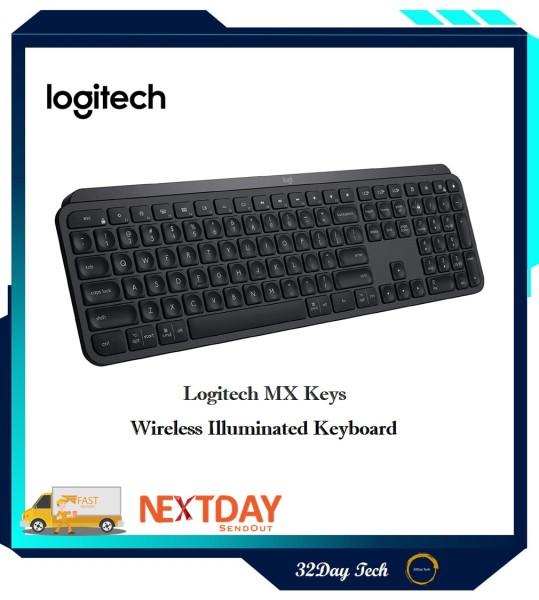 Logitech MX Keys Wireless Illuminated Keyboard Singapore