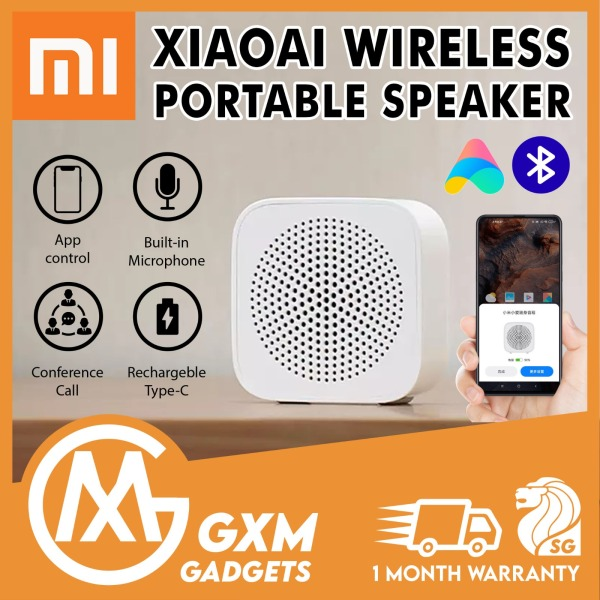 Xiaomi Xiaoai Portable Wireless Speaker Stereo Sound Bluetooth 5.0 Speaker with Microphone Handsfree Call (Type-C) Singapore