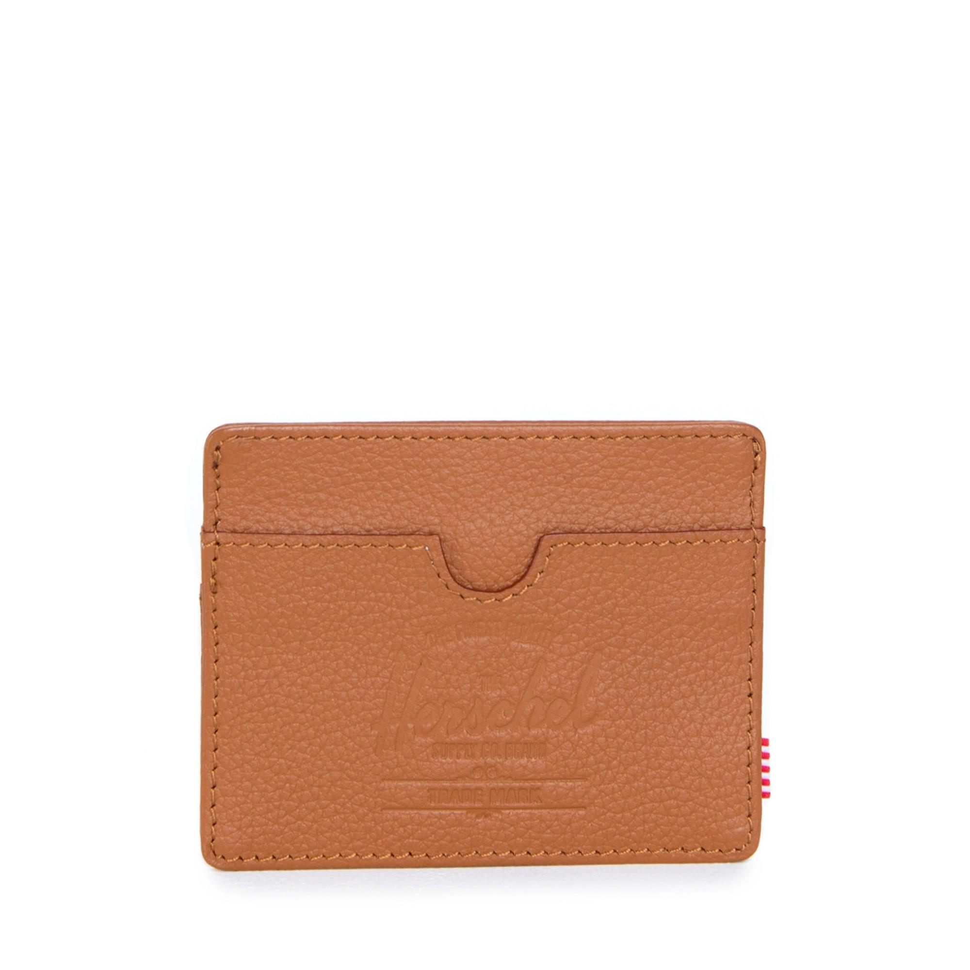 Herschel Charlie Leather - Tan Pebbled Leather