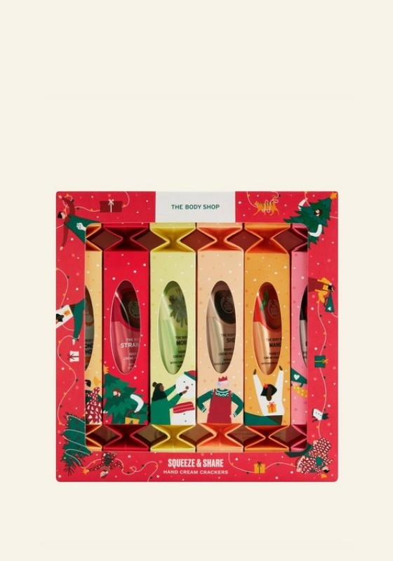 Buy The Body Shop Squeeze & Share Hand Cream Crackers (Christmas Gift Set) Singapore