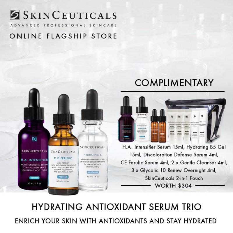 Buy Skinceuticals Hydrating Antioxidant Serum Trio Singapore