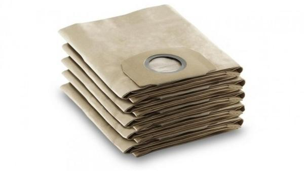 KARCHER Paper Filter Bags Pack of 5 6.959-130.0 [6.959-130.0] WD3 / MV3 Dustbag Singapore
