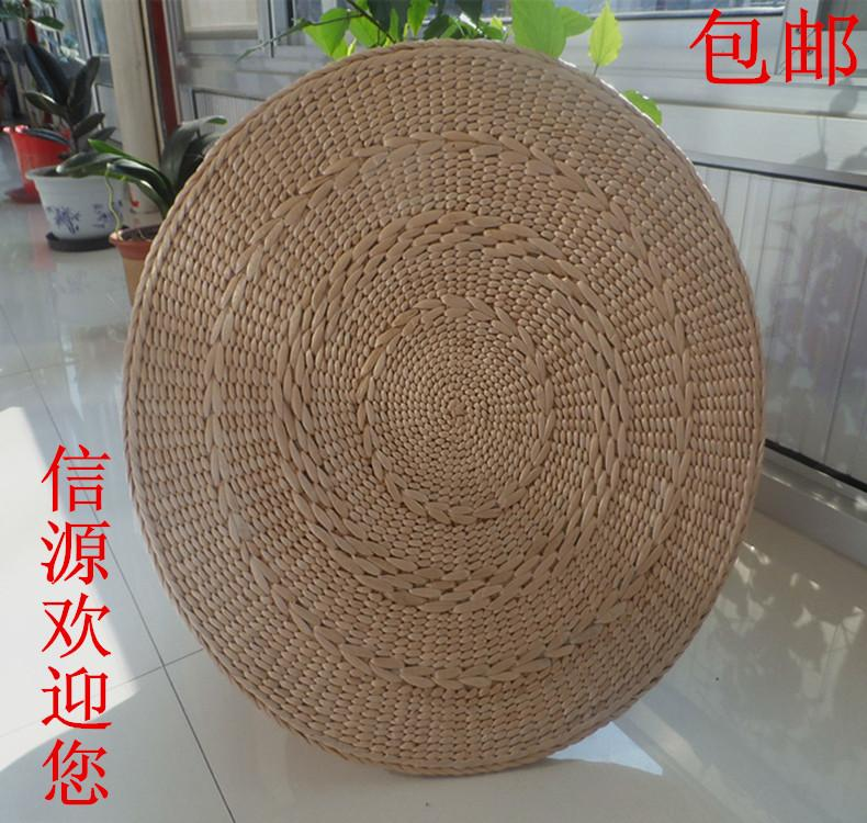 Tatami Straw Yoga Futon Kowtow throw pillow Meditation Buddha Pad Mat Living Room Futon throw pillow