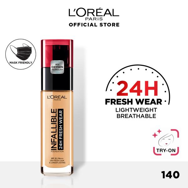 Buy LOreal Paris Infallible 24hr Fresh Wear Liquid Foundation - Lightweight and Longwear Singapore