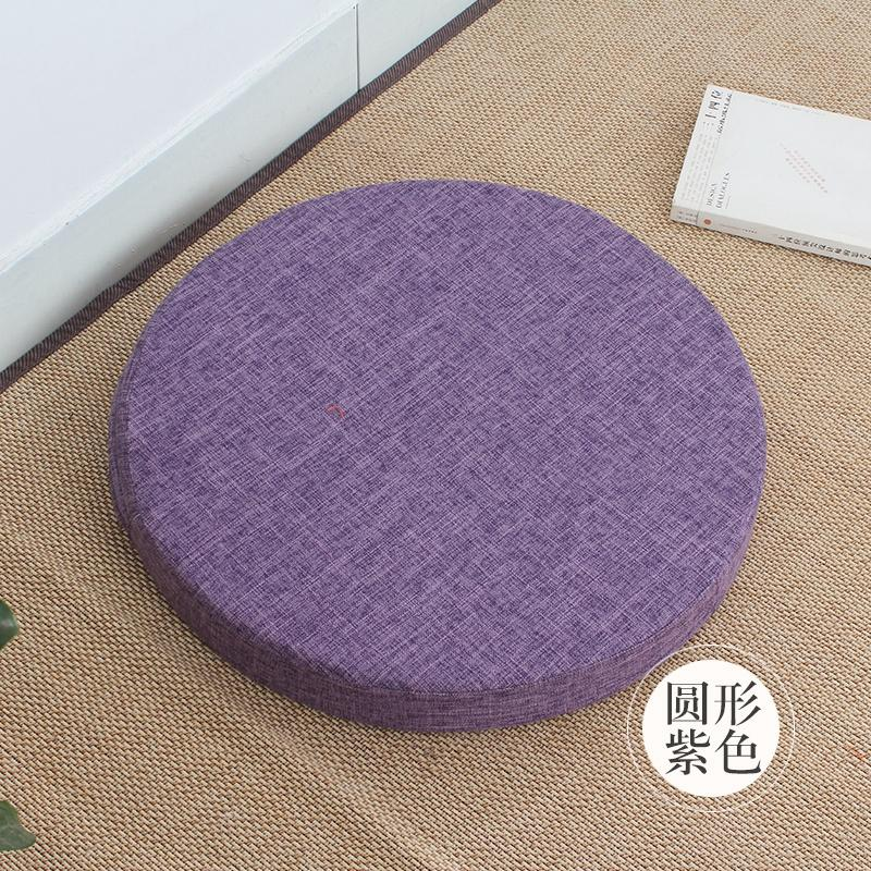 throw pillow Bay Window Meditation Static throw pillow Thickening Circle IKEA Floor Tatami throw pillow Japanese Style Cotton Linen