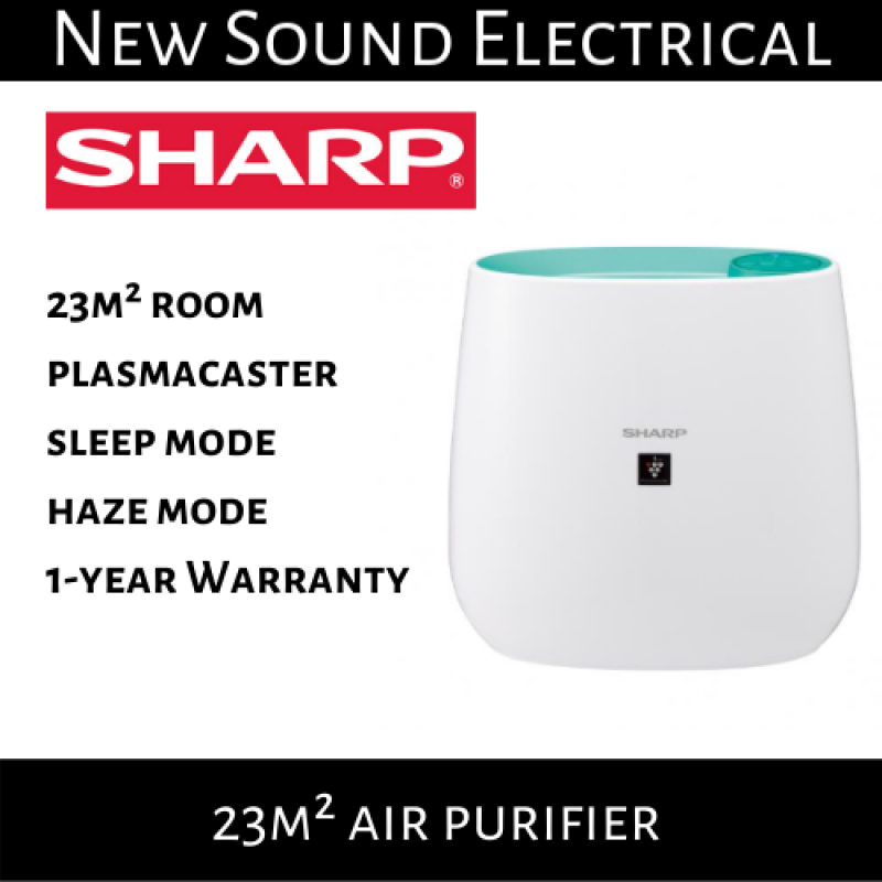 Sharp FP-J30E Plasmacluster Air Purifier with FREE filter | 1 Year Local Warranty Singapore